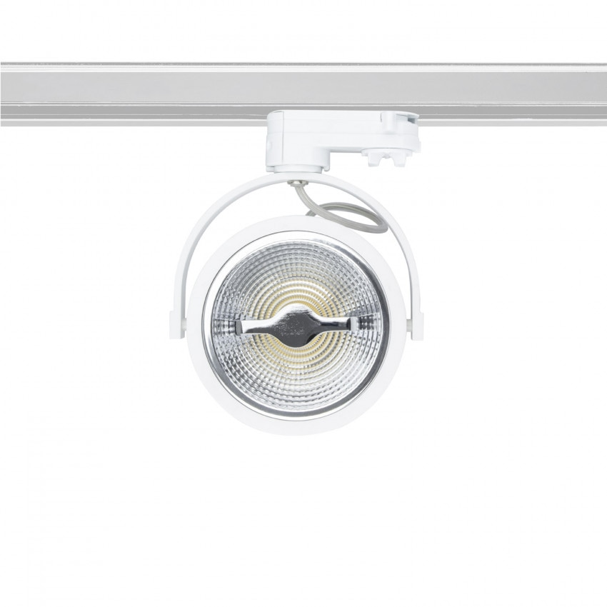 Foco LED Cree AR111 15W Regulável Branco para Carril Trifásico