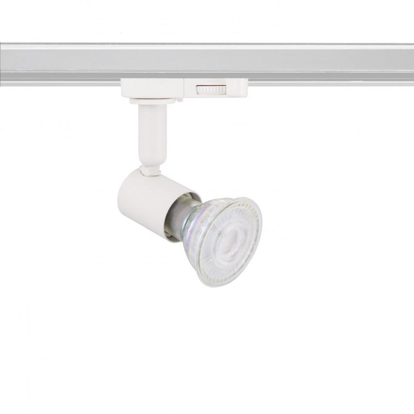 Foco Suporte de Lâmpada GU10 para Carril Trifásico