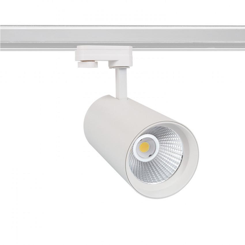 Foco LED New d'Angelo Branco 40W LIFUD para Carril Trifásico