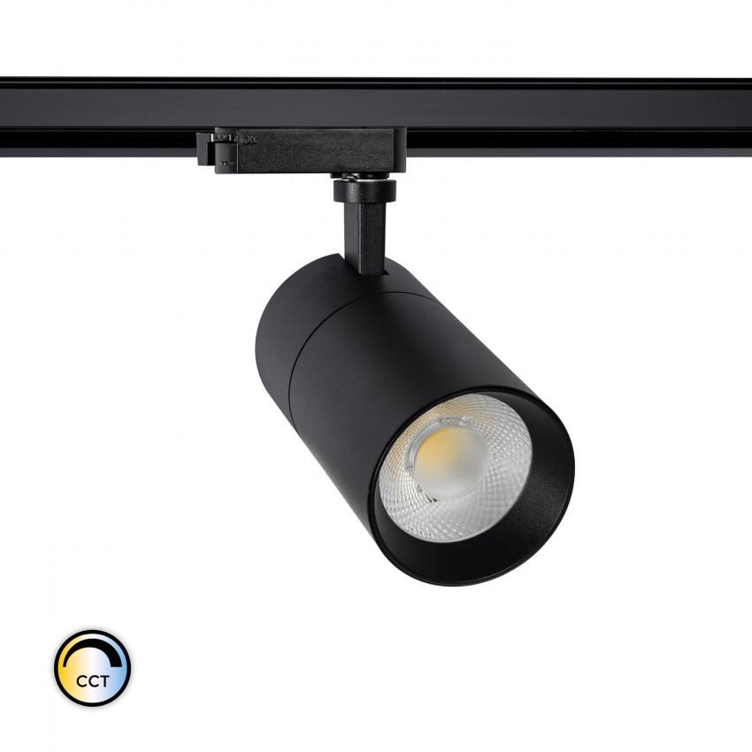 Foco LED New Mallet 20W Regulable CCT Seleccionable para Carril Monofásico (UGR 15)