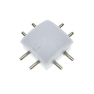 Conector 'X' Perfil con Tira LED Aretha