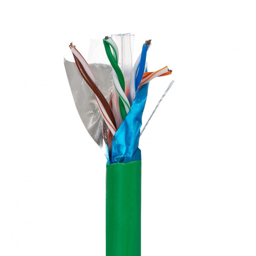 Cable de Red FTP CAT.6 Cobre Puro Libre de Halógeno Apantallado 305m