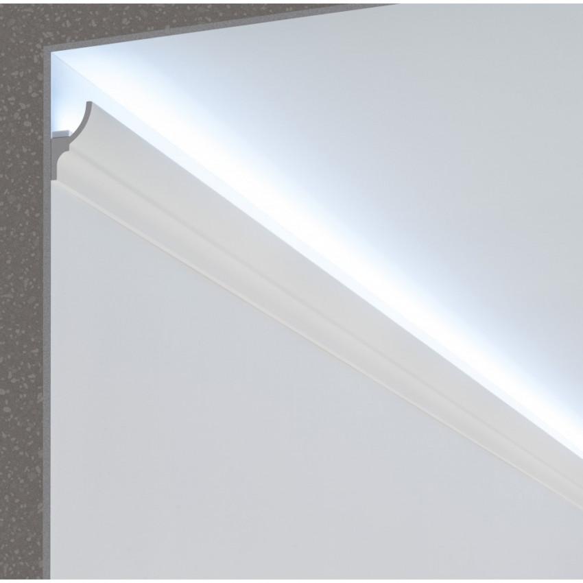 Moldura Zócalo para Tira LED 2m Classic