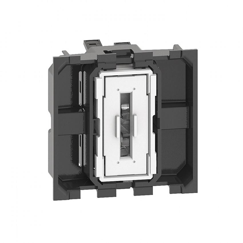 Mecanismo Interruptor Simple 2 Módulos 10 AX 250V AC BTicino Living Now K4001M2A