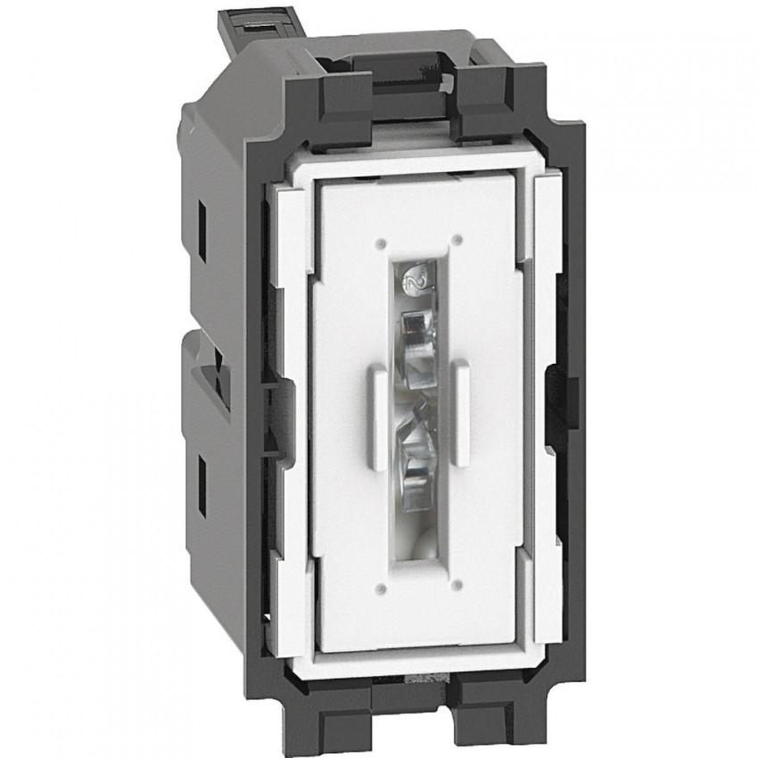Mecanismo Interruptor Conmutador 1 Módulo 10 AX 250V AC BTicino Living Now K4003A