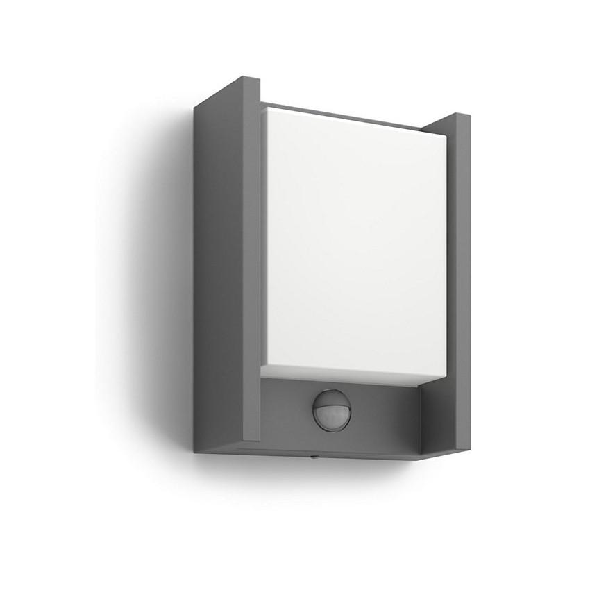 Aplique LED con Sensor de Movimiento 6W PHILIPS Arbour