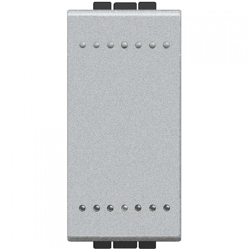 Mecanismo Interruptor Simple 1 Módulo 16A 250V AC Borne Auto BTicino Living Light NT4001A
