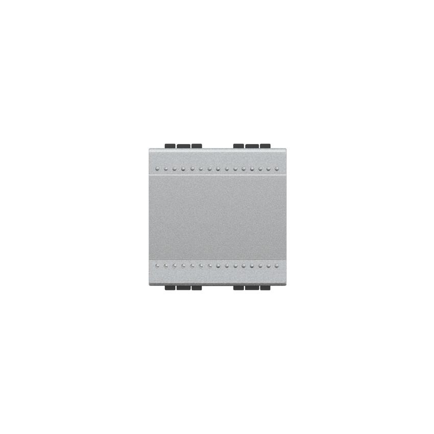 Mecanismo Interruptor Simple 2 Módulos 16A 250V AC Borne Auto BTicino Living Light NT4001M2A