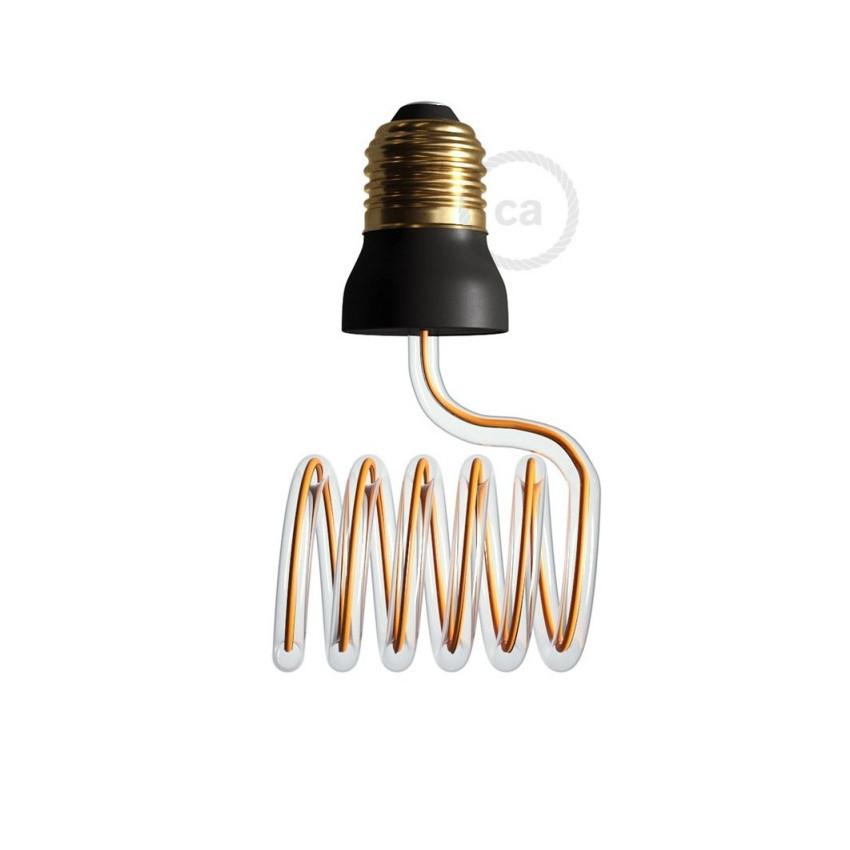 Bombilla LED E27 Regulable Filamento 12W Art Loop Cross Creative-Cables Modelo SEG50157