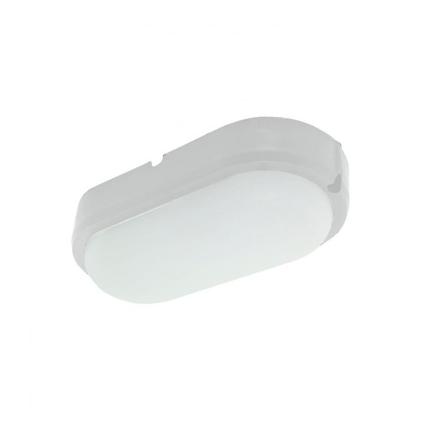 Plafón LED 25W Oval Hublot White con Detector de Movimiento IP65