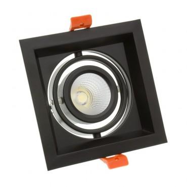 Foco Madison LED Direccionable COB 30W Black