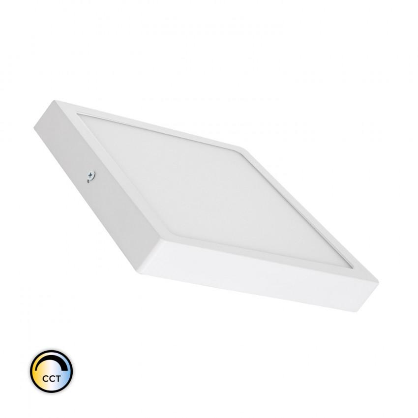 Plafón LED 18W Quadrado Superslim CCT Seleccionável