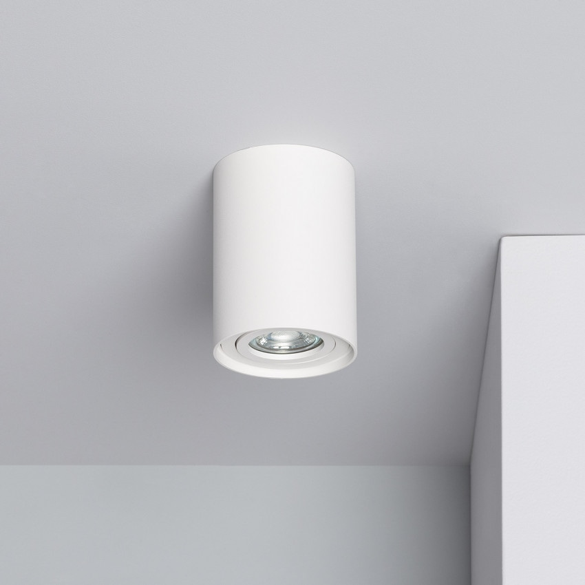Aplique Techo Cuarzo Aluminio Blanco