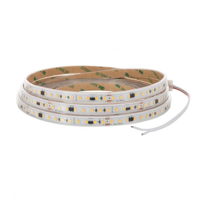 Tira LED Sin Rectificador a 220V AC 120 LED/m Blanco Frío IP65 High Lumen a Medida Corte cada 10 cm