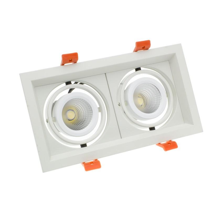 Foco LED CREE-COB Direccionável Madison 2x10W LIFUD (UGR 19)