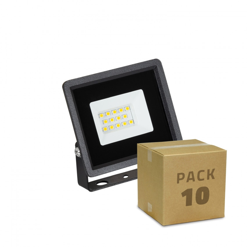 Pack Foco Proyector LED 10W Solid IP65 (10 un)