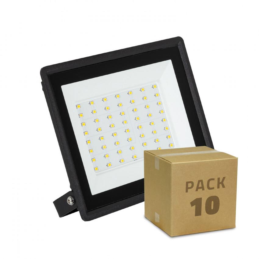 Pack Foco Projetor LED 50W Solid IP65 (10 un)