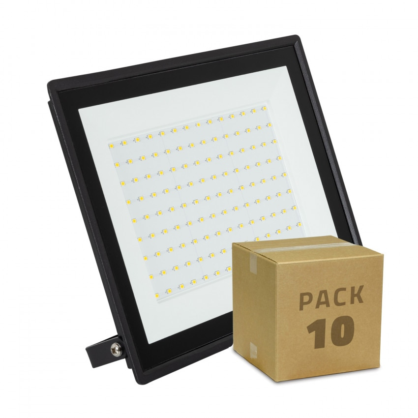 Pack Foco Proyector LED 100W Solid IP65 (10 un)