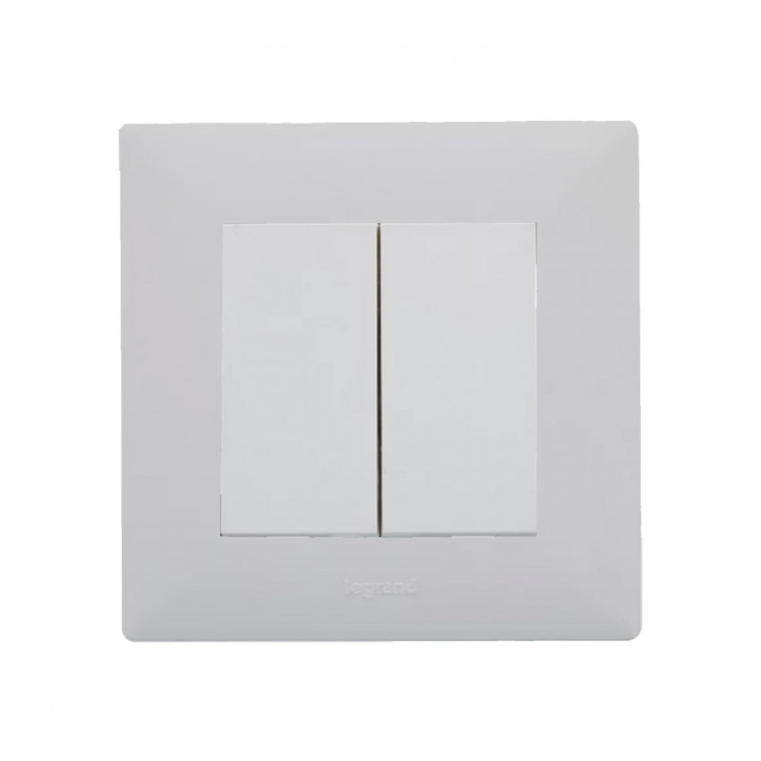 Kit Interruptor Doble LEGRAND Niloé Step