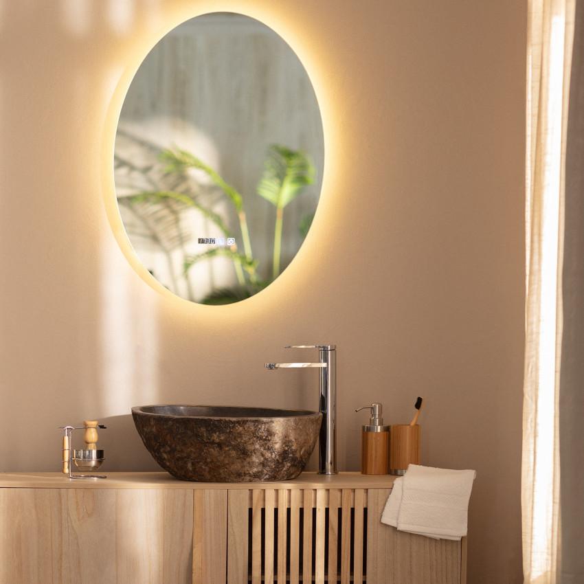 Espejo LED Antivaho Táctil Catedrais 70x50 cm