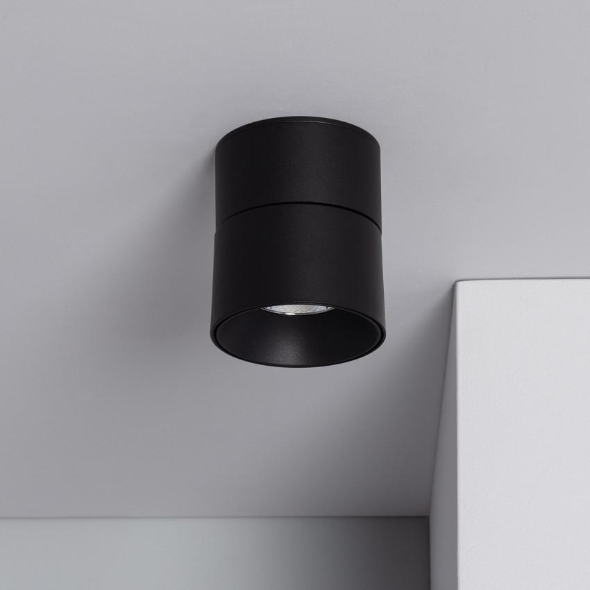 Aplique LED New Onuba 7W Circular Preto