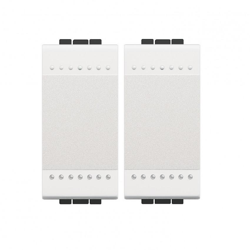 Kit Interruptor Doble BTicino Living Light