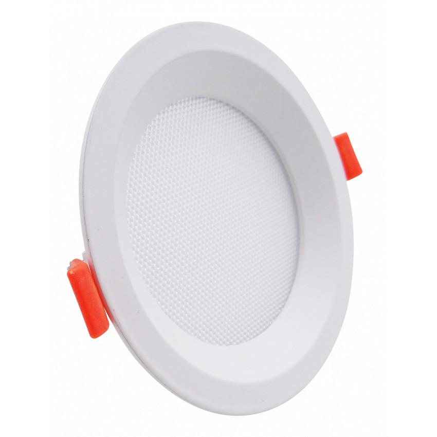 Placa LED 10W CCT Seleccionable Circular Slim LIFUD (UGR17) Corte Ø 110 mm