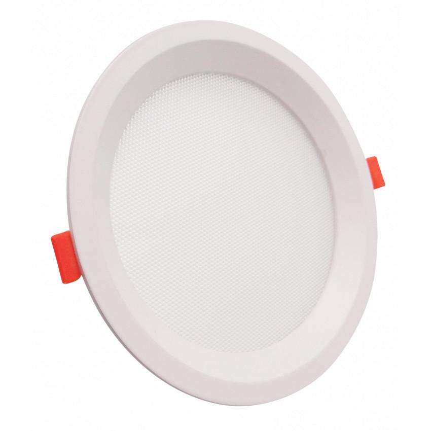 Placa LED 16W CCT Seleccionável Circular Slim LIFUD (UGR17) Corte Ø 150 mm