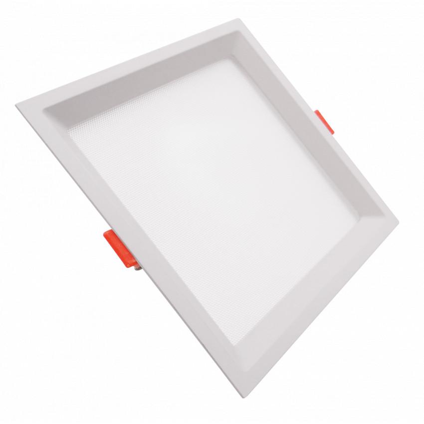 Placa LED 10W CCT Seleccionável Quadrada Slim LIFUD (UGR17) Corte 110x110 mm