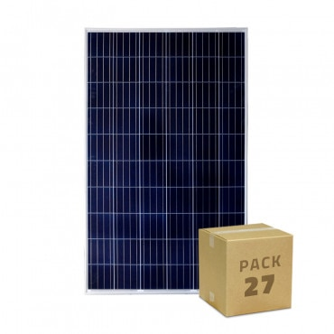Panel Solar Fotovoltaico Policristalino 24V 275W