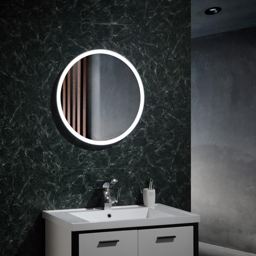 Espejo Decorativo LED con Interruptor Táctil Paraíso 25W Antivaho