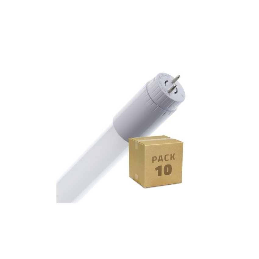 Pack Tubos LED T8 de Vidro 900mm Conexão Uni-Lateral 14W 110lm/W (10 un)