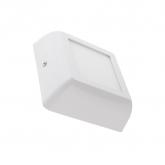 Plafón LED Cuadrado White Design 6W
