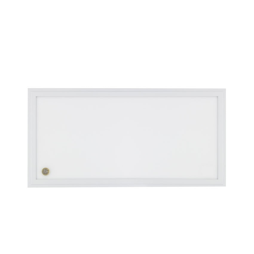 Panel LED Slim Emergencia 120x30cm 40W Marco Blanco