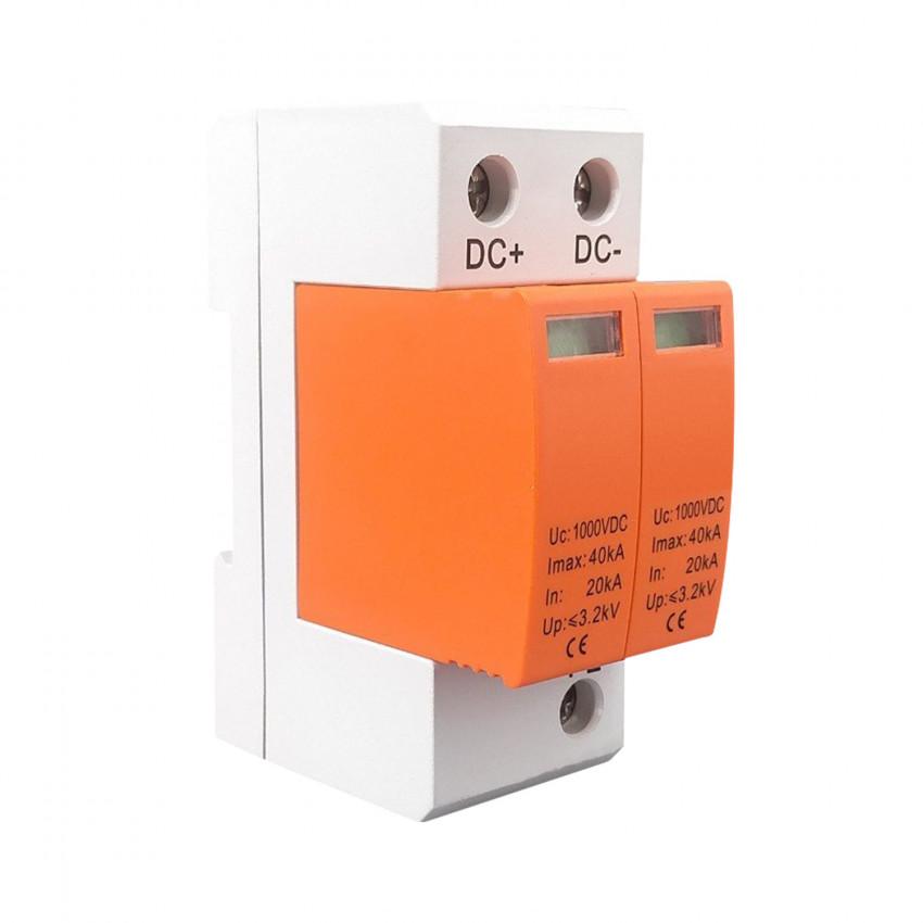 Protector Sobre-Tensão Transitórias MAXGE 2P-Classe II-40kA-20kA-3,8kV 1000V DC