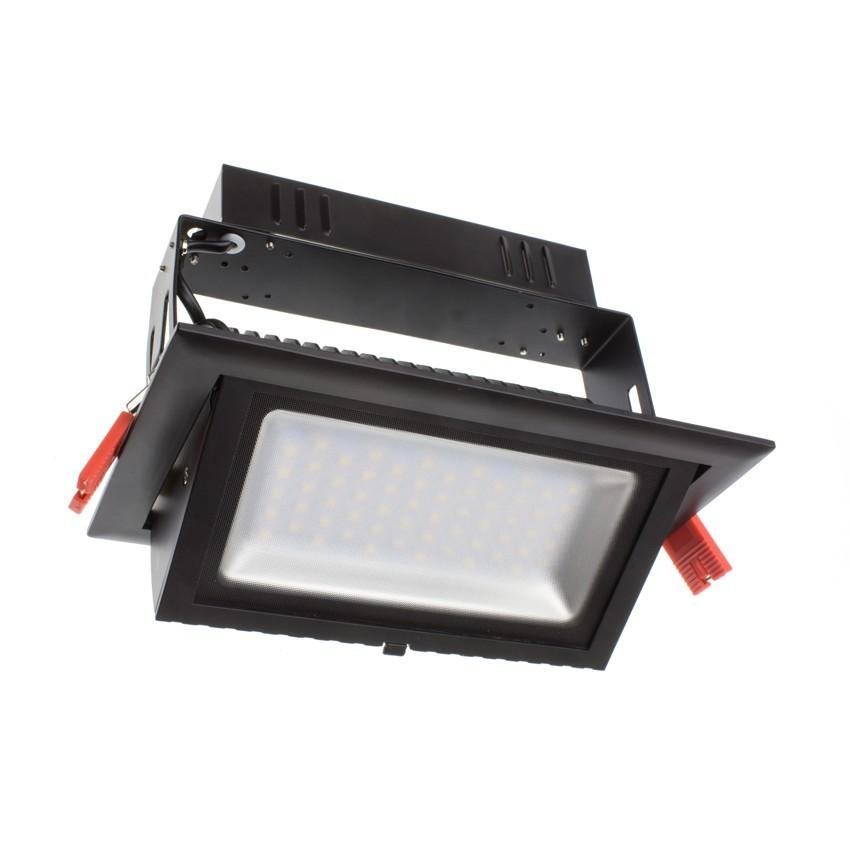Foco Proyector Direccionable Rectangular LED 28W SAMSUNG 120lm/W Negro LIFUD