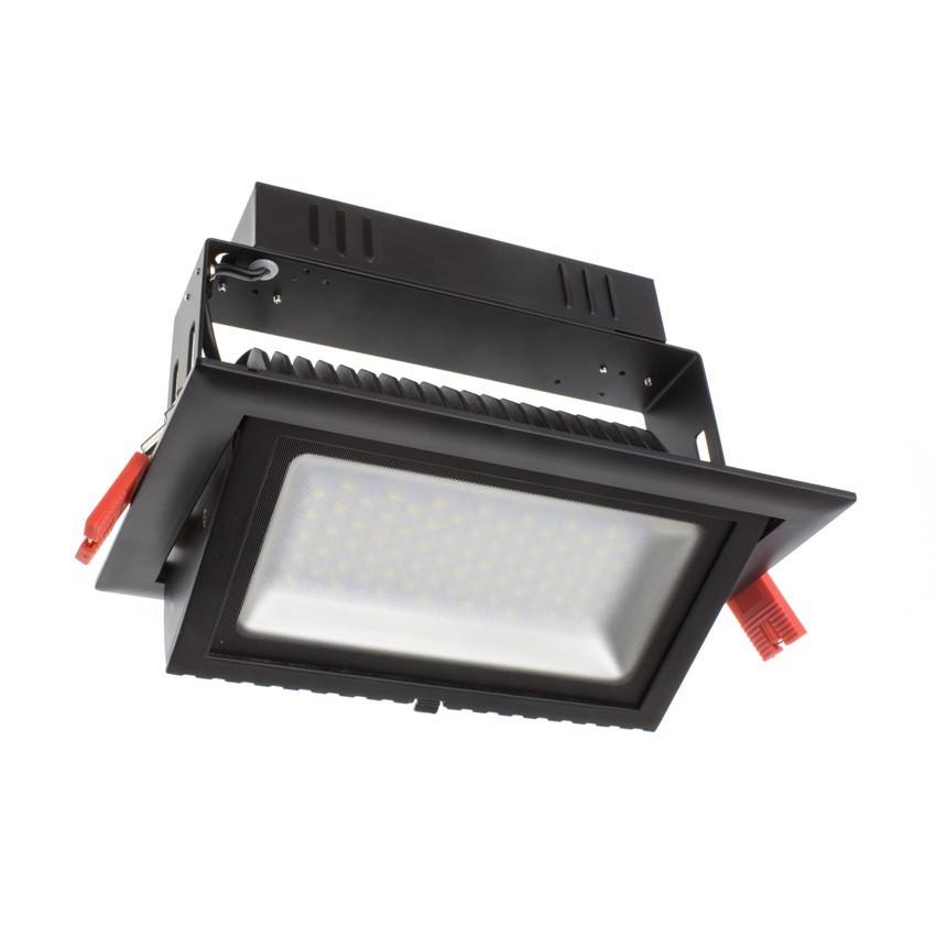 Foco Proyector Direccionable Rectangular LED 38W SAMSUNG 120 lm/W Negro LIFUD